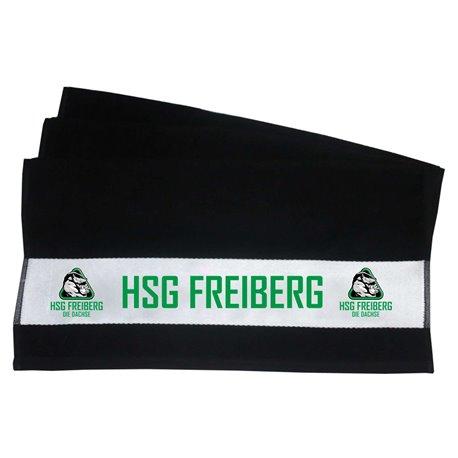 HSG Freiberg Seniordachs Handtuch schwarz